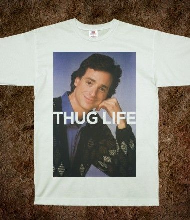 Thug Life (Saget Shirt) - Swag Master - Skreened T-shirts, Organic Shirts, Hoodies, Kids Tees, Baby One-Pieces and Tote Bags