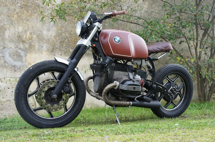 BMW R100 Bobber - Luis Moto - RocketGarage - repinned by http://www.motorcyclehouse.com/