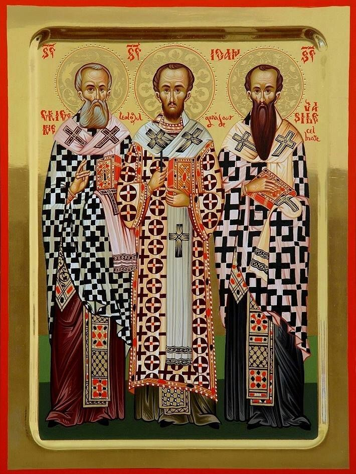 Holy Three Hierarchs https://scontent-ams3-1.xx.fbcdn.net/hphotos-xtp1/v/t1.0-9/12654518_796625090464718_1330072625726928876_n.jpg?oh=730890f419083860302c04a9875e4ac2&oe=57471DAF