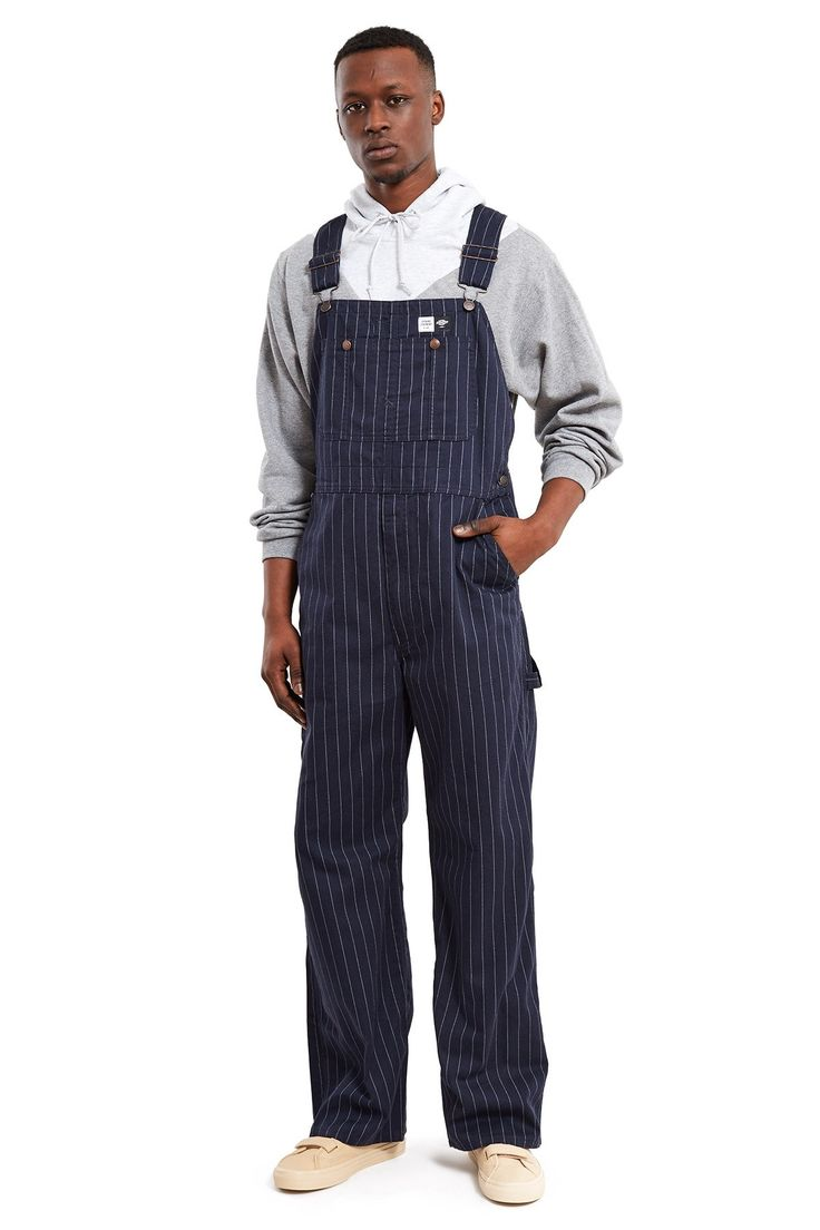 OPENING CEREMONY DICKIES CLASSIC BIB OVERALLS - NAVY. #openingceremony #cloth #