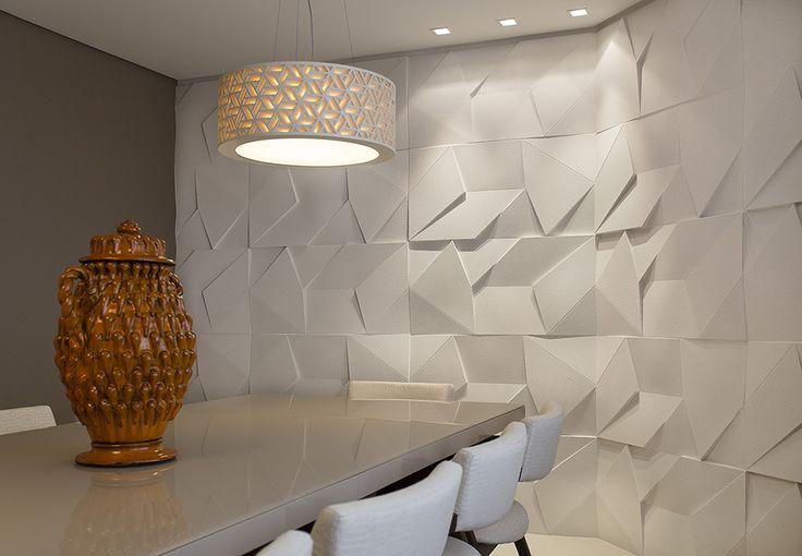 Scaleno Grezzo Branco - Arq. Claudia Macedo - Foto: Gustavo Awad #castelatto #piso #parede #design #arquitetura #revestimento #decor #decoração #sofisticacao #textura #inovacao #floor #revestimento #wall #interioresdesign #style #decoraçãodeinteriores #decordesign #decorando #referencia #decoration #decorlovers #decoracao #archilovers #castelatto #castelato#saladejantar #dining #diningroom #comedor