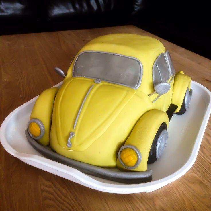 Volkswagen Beetle Birthday cake
