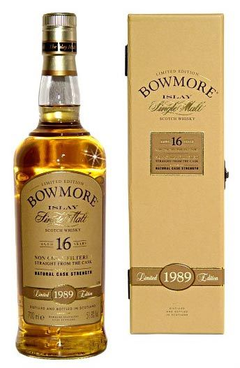 Bowmore single malt scotch whisky, Islay.