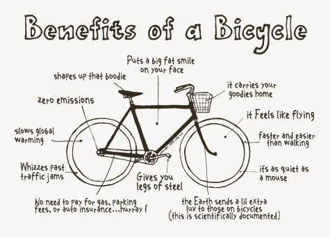Benefits of a Bicycle: Bicycles, Bikes, Fitness, Cycling, Biking, Benefits, Health