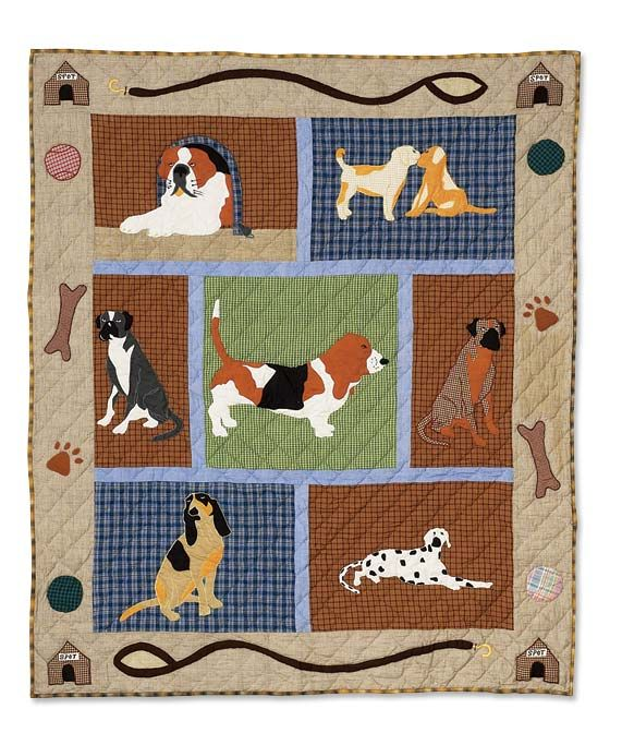 Quilt - Dog theme
