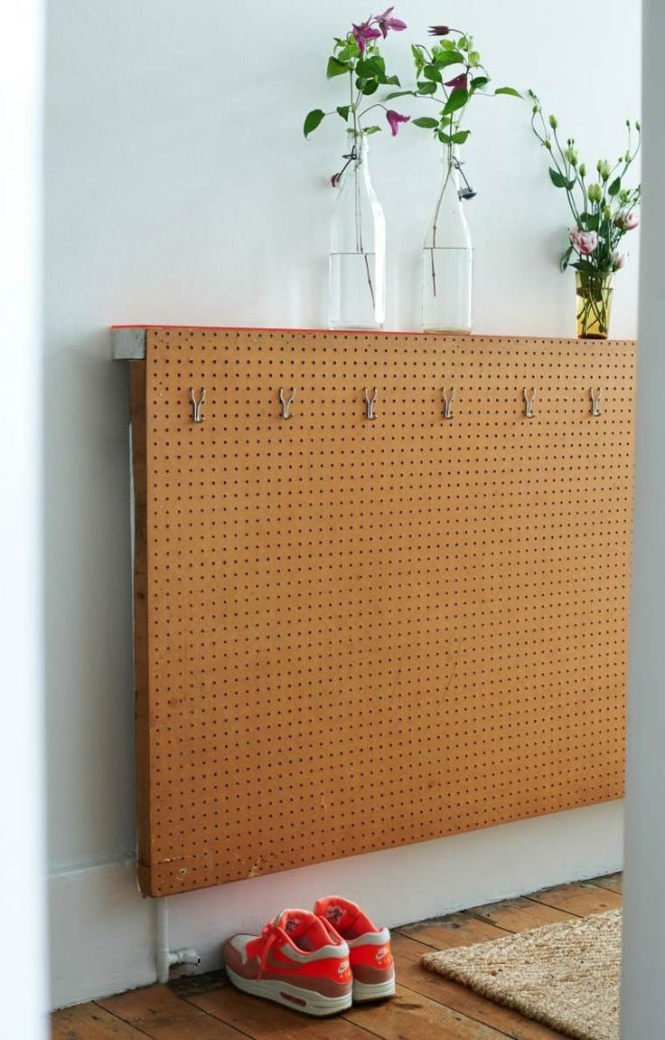Cache radiateur moderne