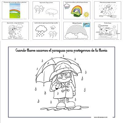 Conocer el tiempo atmosférico: La lluvia