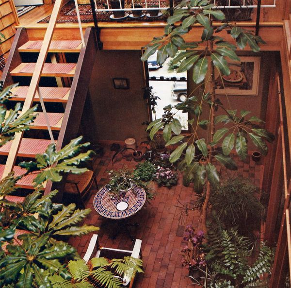 42 best living with plants in the 70s images on pinterest for Garden design 1970s