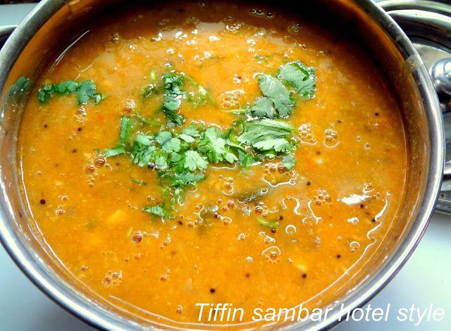 Your Everyday Cook: Sambar - Saravana Bhavan style ( Tiffin sambar )