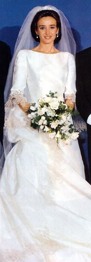 Princess Miriam Ungria. Very nice picture for Princess Miriam on her wedding day.