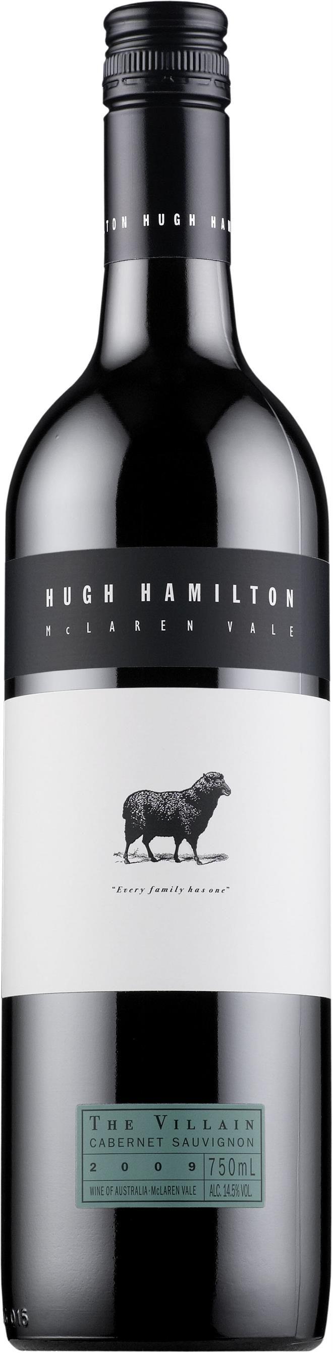 Hugh Hamilton The Villain Cabernet Sauvignon 2012