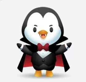 Awesome Vampire Penguin Cute Stuff Pinterest Awesome