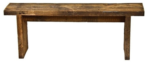 Chicago Vintage Bench - traditional - bedroom benches - Urban Remains