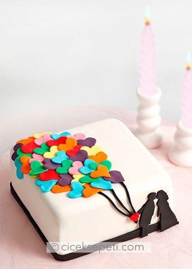 Tatlı Aşk Tasarım Pasta