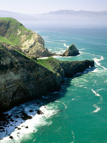 channel islands national park | Ocean Cliff, Channel Islands National Park, California | Xenia Nova