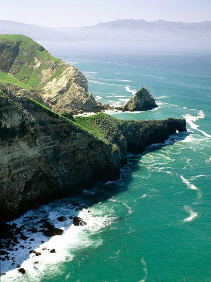 channel islands national park | Ocean Cliff, Channel Islands National Park, California | Xenia Nova
