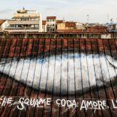 Un pesce di 25 metri sul Mercato del Pesce di Livorno