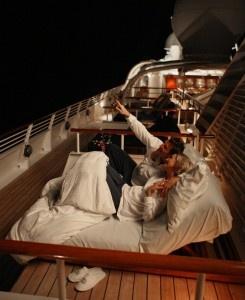 Sleep under the stars at sea! Seadream's Balinese DreamBeds