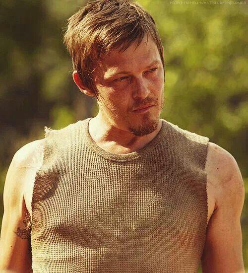 I liked the shorter/lighter hair from season 1 sooo much better! ~ Daryl Dixon, The Walking Dead Season 1