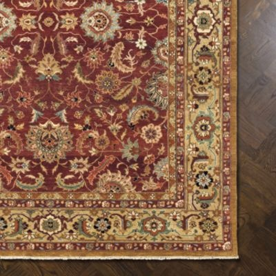 Samarkand Petals Wool Area Rugs
