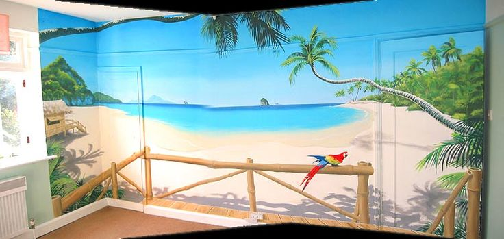 33 Best Beach Theme Room Images On Pinterest Murals