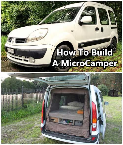 check out how to turn a small suv van