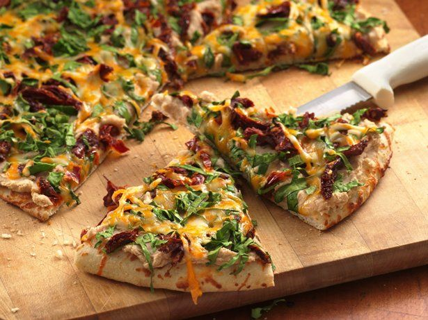 white bean and spinach pizza spinach pizza healthy pizza healthy ...