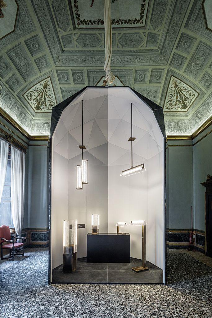 Via Lucis Exhibition at Milan Design Week in Palazzo Serbelloni - More at http://lasvit.com/milan-2016