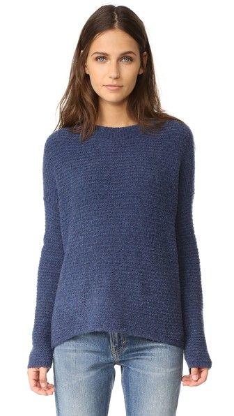 Vince Oversized Crew Sweater