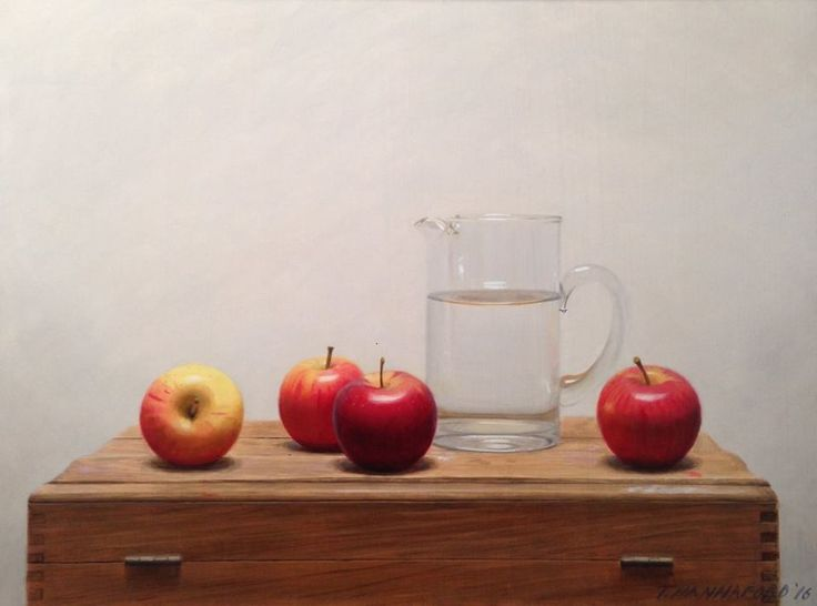 Another fine work by Tsering Hannaford including a water jug.  Truly stunning.