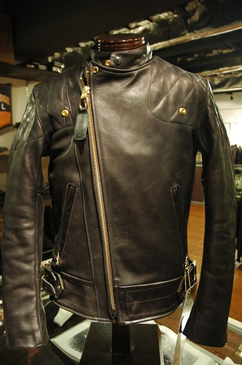 Vanson Chopper Jacket.  Quite possibly one of the nicest jackets I've ever seen.
