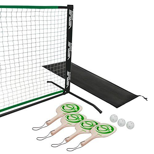 Setup this full size Pickle ball net up on any hard surface and you are prepared to play. Out of your driveway to the local Pickle ball courts, just snap the metal frame together and slide the web on. Both the end toughen and our middle toughen are designed to carry the web on the regulation heights - no more sagging.