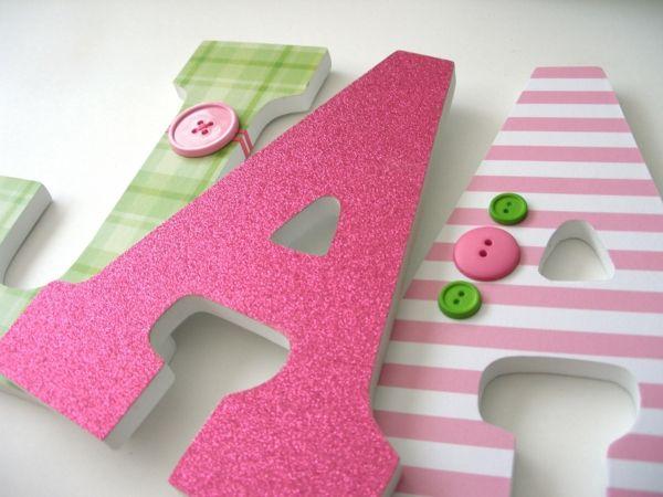 17 meilleures id es propos de lettres d cor es sur pinterest lettres d 3 - Lettre de decoration ...