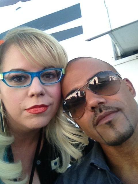 Shemar Moore & Kirsten Vangness