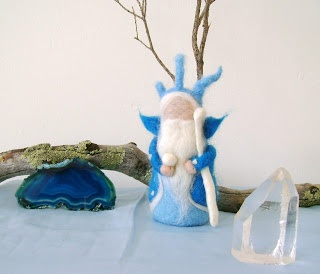 Needle Felted Toys: King Winter