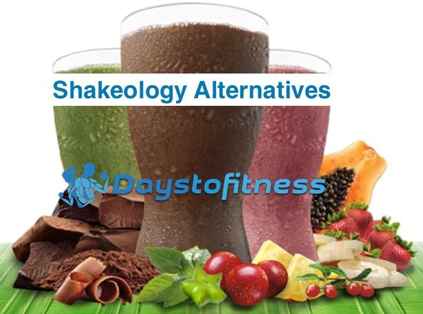 Shakeology alternatives