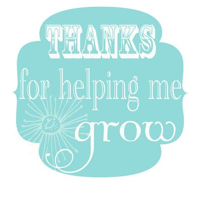 Printable Labels - Simply the Best & Thank you for helping me grow