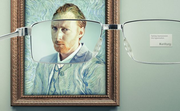 PRINT: KelOptic lässt van Gogh realistisch aussehen