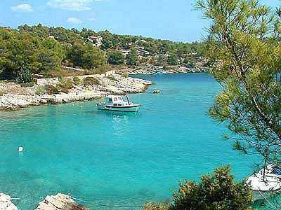 Milna Beach on the Island of Brac Croatia