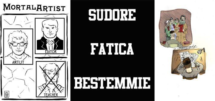 THREE 4 COMIC: L'ASPIRANTE FUMETTISTA - http://c4comic.it/2015/01/06/three-4-comic-laspirante-fumettista/
