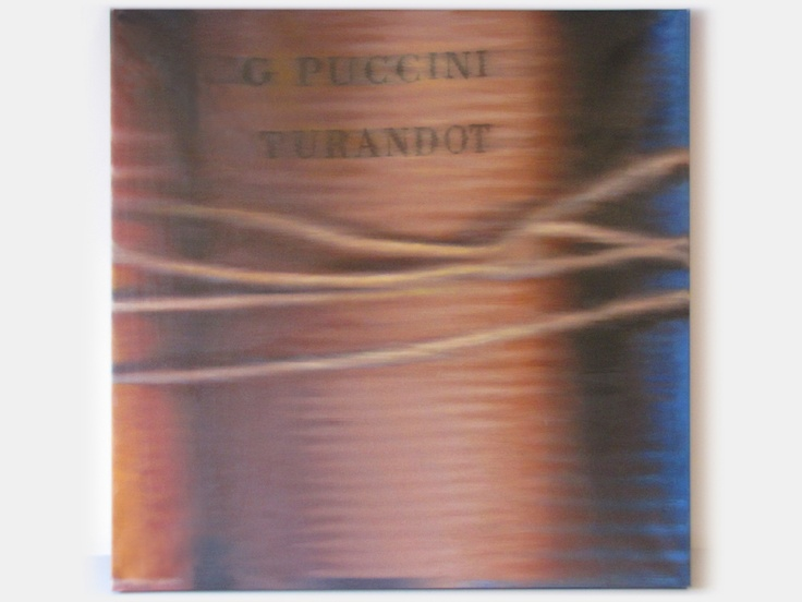 01574 Puccini Turandot, 95x95 cm (Collezione privata)