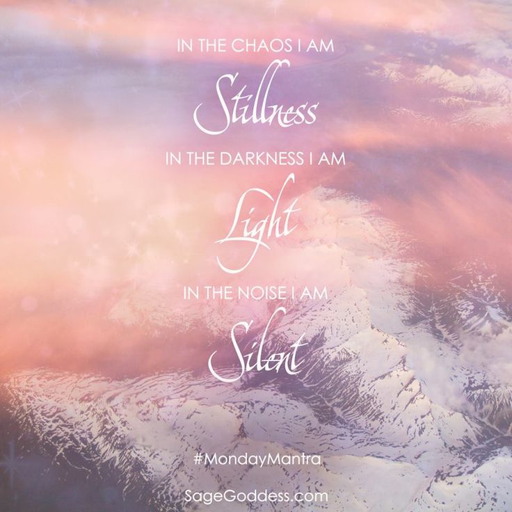 Mantra of the day. #SageGoddess #Mantra #Spirituality #Magic #Metaphysical #Meditation #InnerPeace