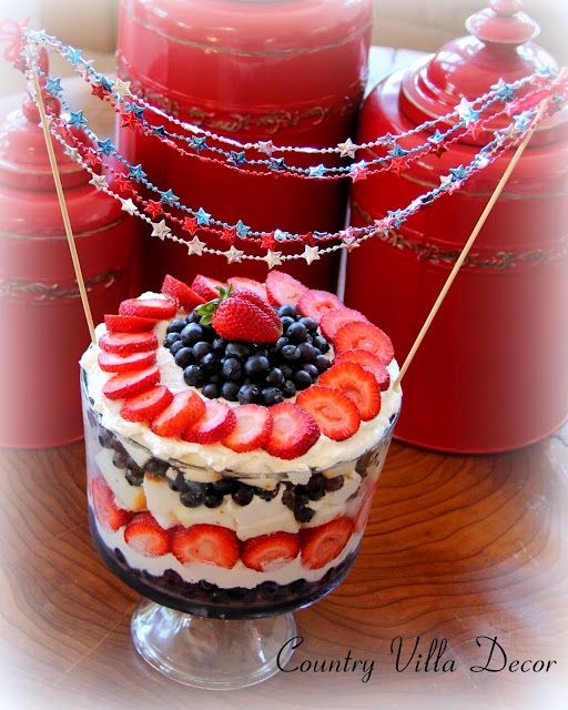 4th of july trifle recipes with pictures