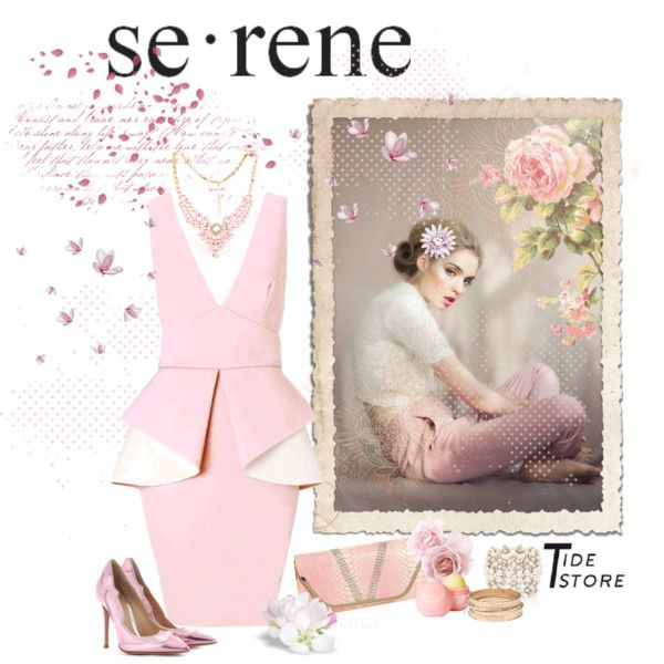 """""""Serene"""" by agathalizz on Polyvore"""
