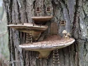 Fairy House by Betty Roney