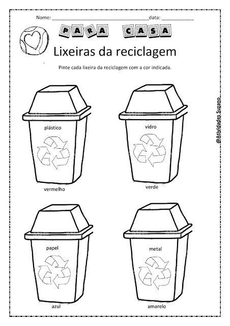 Dia Mundial do meio ambiente - Atividades Adriana