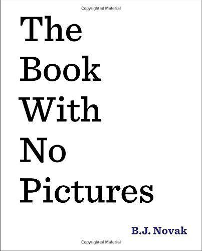 The Book with No Pictures by B. J. Novak https://www.amazon.com/dp/0803741715/ref=cm_sw_r_pi_dp_x_EQmdzbAS11XQH