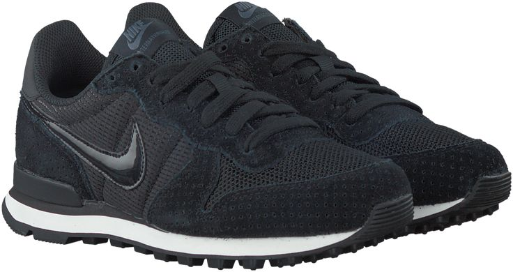 Zwarte Nike Sneakers INTERNATIONALIST DAMES