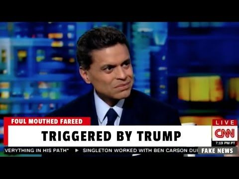 CNN's Fareed Zakaria Goes on Profanity-Laced Trump Meltdown Live on Air! (VIDEO)