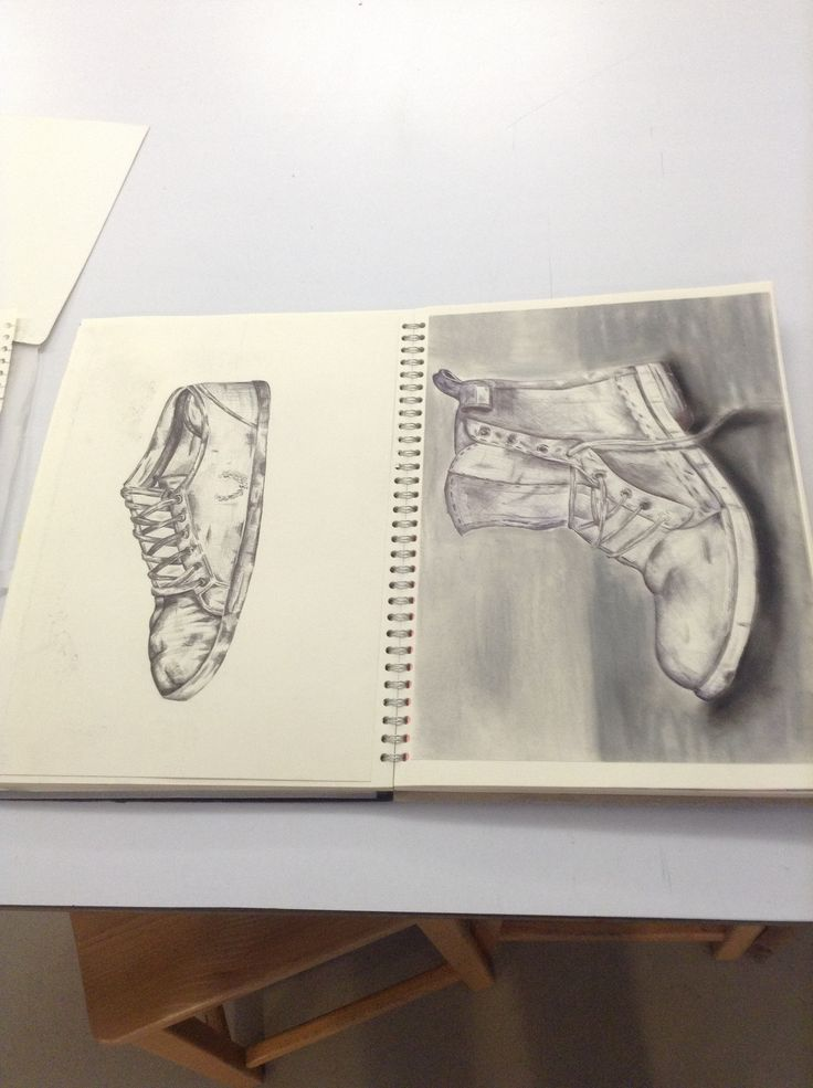 Gcse art sketchbook